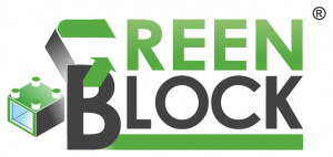 logo green block